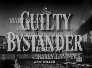 Guilty Bystander (1950) download